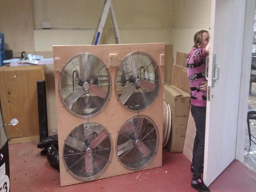 The Wind Tunnel Fans