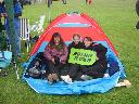 The Pitstop Camp at Dunsfold 2010